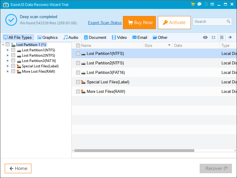 activation code easeus data recovery wizard trial