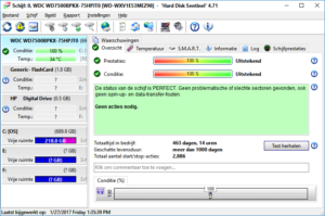 HD Sentinel hard disk health SMART monitor