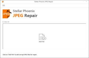 JPEG File Repair Software