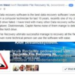 Professionals use ReclaiMe to recover NAS data