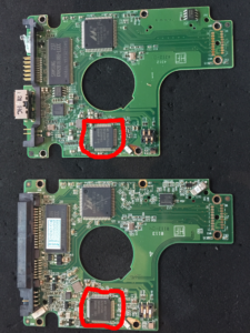 WD My Passport PCB with matching SATA PCB - Data recovery from encrypted disks