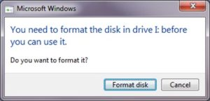 The volume does not contain a recognized file system – How to recover your files