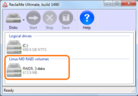 ReclaiMe NAS data recovery software