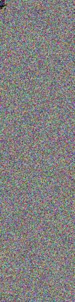 representation binary data of intact JPEG