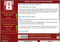 recover files from the wannacrypt ransomware