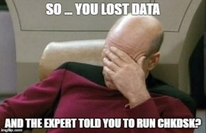 data recovery advice from an expert