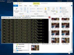 Extract JPEG files from RAW using JpegDigger