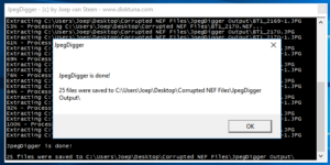 Did chkdsk turn JPEGs into .CHK files? Often recovery is possible.