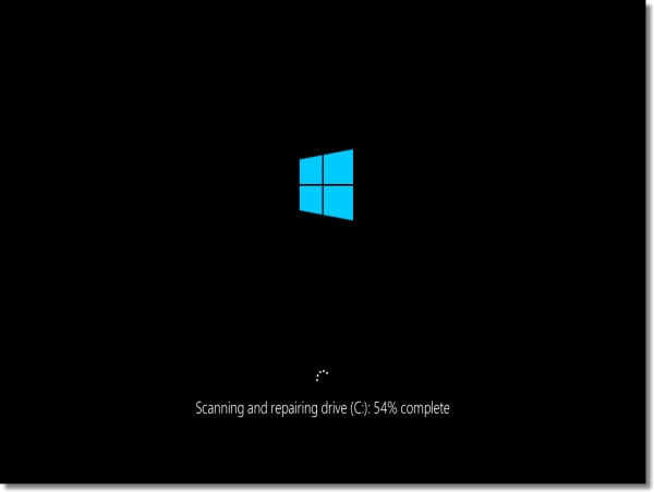 boot time chkdsk windows 8 and up