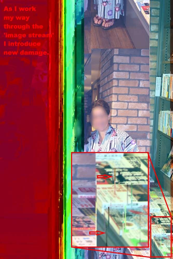 JPEG Repair - editing the image stream