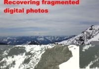 Recovering fragmented digital photos