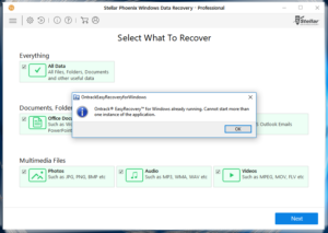EasyRecovery accepts Stellar license key
