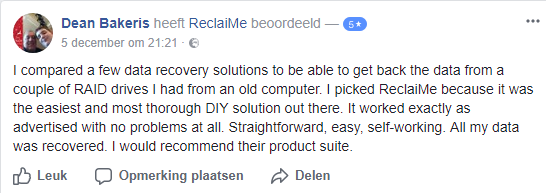 ReclaiMe review