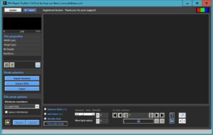 Repair corrupted photos using JPG-repair Toolkit