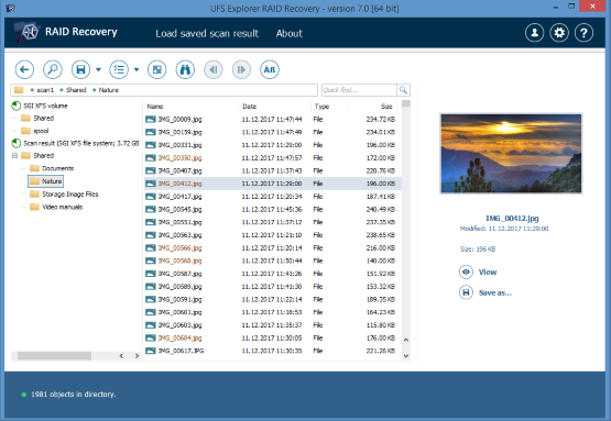 NAS Data Recovery Software - ReclaiMe and UFS Explorer