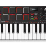 AKAI MPK mini play drum pads and Ableton Live drum pack misalignement