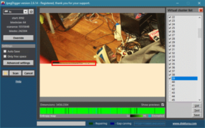 Recover fragmented, non-contiguous, incomplete photos from a memory card using JpegDigger