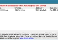 Deleted file recovered from SSD using Recuva contains no data