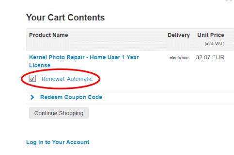 auto-renew scam