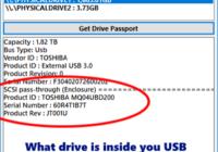 Drive Passport Utility