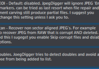 Duplicate file detection default is enabled.